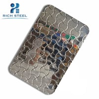 Sus 316 Stamped Finish Stainless Steel For Wall Cladding