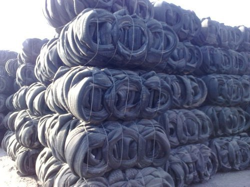 Motorcycle And Car Tyre Scrap