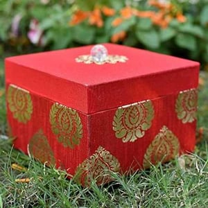 Fancy MDF Floral Print Gift Boxes