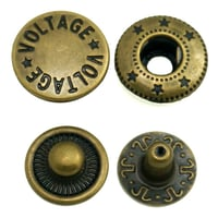 Oeko-Tex 100 Pass Custom Wholesale Metal Snap Button