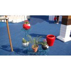 Arch Wrought Iron Planters