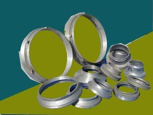 End Rings For Rotary Screen Printings
