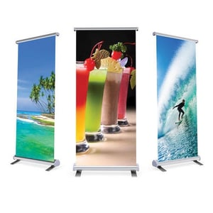 Multiple Color Cloth Banner