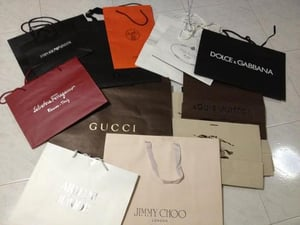 Recyclable Branded Paper Bags