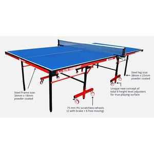 Easy to Install Table Tennis Table