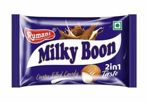 Milky Boon Center Filled Candy