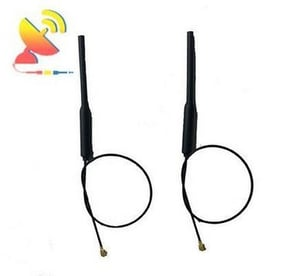2.4G Wifi Tube Antenna With Rg1.13 Cable
