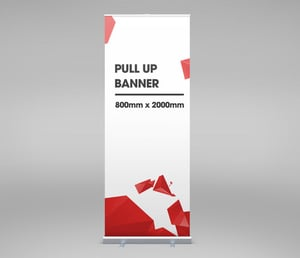800mm x 2000mm Pull Up Banner