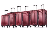 ABS Luggage Suitcase with Glass Fiber Nylon Wheels