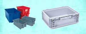 Light Weight Moulded PP Bins
