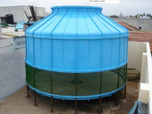 Round Type FRP Cooling Towers