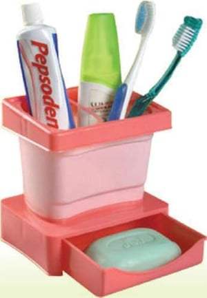 Tooth Brush Plastic Stand