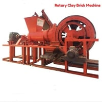Fully Automatic Rotary Clay Brick Making Machine