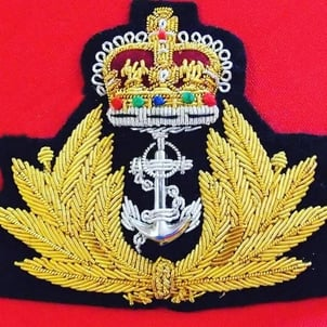 Naval Embroidery Badges