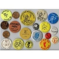 High Quality Metal Badge Buttons