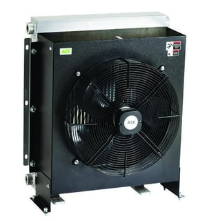 Air Cooled Oil Coolers For Quenching Oil Systems