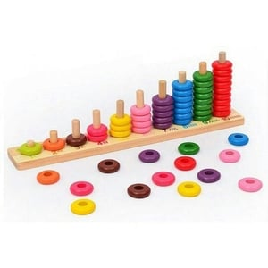 Wooden Toys Shapes Stacker