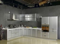 Reliable Metal Modular Kitchen