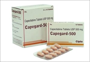 Capegard 500 Mg For Cancer