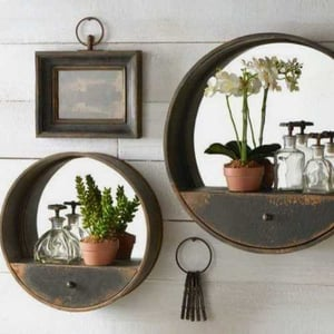Decorative Wooden Wall Mirror Frame