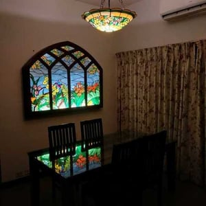 Durable Stained Glass Panel