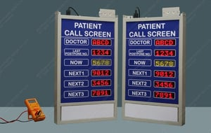 Electronic Patient Calling Display