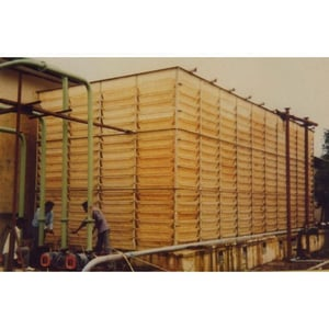 Jet Spray Cooling Tower