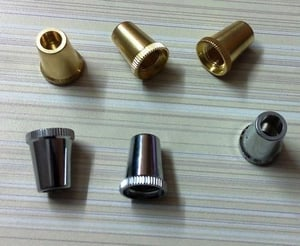Brass Lamp Wire Relief Cord Grip