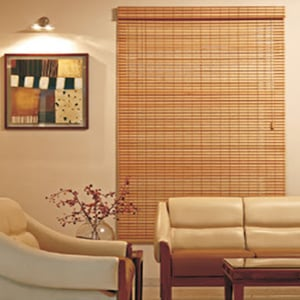 Bamboo Rollup Blinds