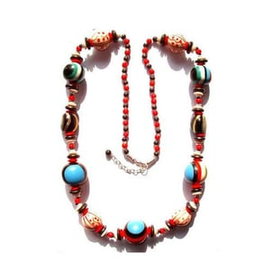 Horn Resin Beaded Necklaces