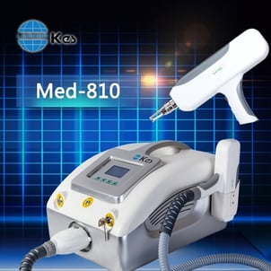 Q-Switch ND.Yag Tattoo Removal Machine Med-810