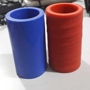 Blue And Red Silicon Hose Pipe