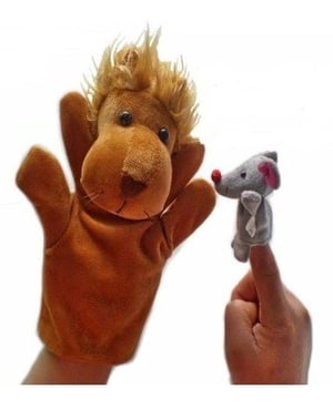 Famous Story Telling Hand And Finger Puppets