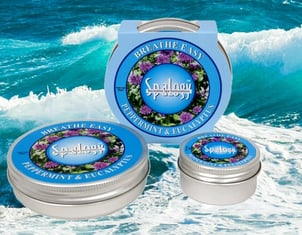 Spalogy Congestion Relief Natural Breathe Easy Rub