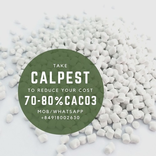 Plastic Filler Masterbatch 80% Caco3