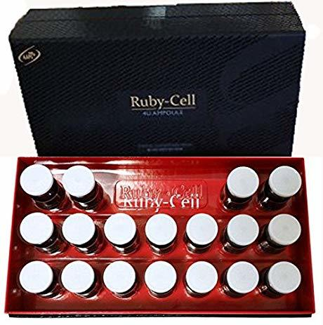 Ruby-Cell 4U Ampoule 5%AAPE,5% AAPE Cream, Revital Eye Cream and Patch Pack