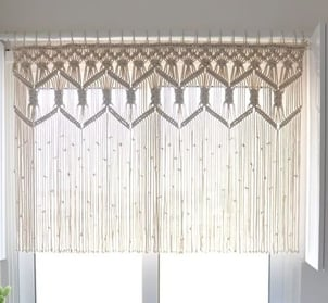 Macrame Rope Wall And Glass Hangings
