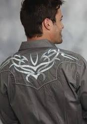 Men Embroidered Casual Shirt
