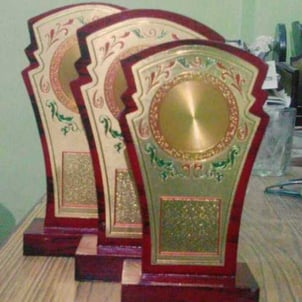 Exclusive Customized MDF Trophies