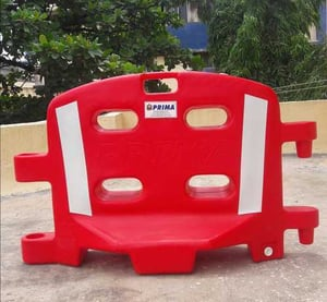 Traffic Safety Red Barricade