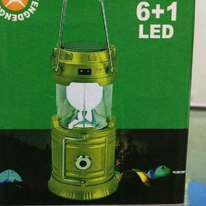Six In One Solar Camping Lamp