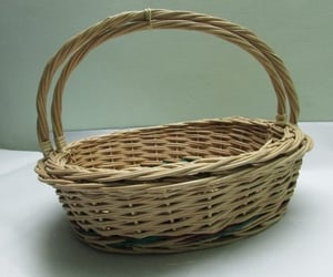 Cane Basket With Handle