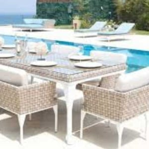 Swimming Pool Side Dining Table