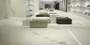 Imperial White Marble Tile