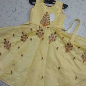 Baby Girl Embroidered Frock