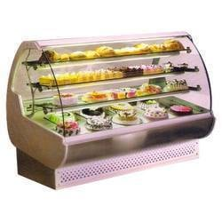 Curved Glass Sweet Display Counters