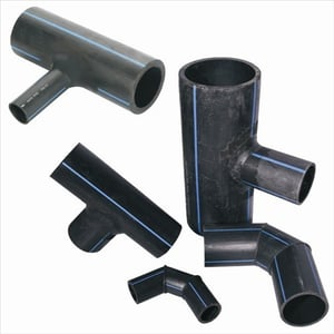 HDPE Pipe Fittings Fabricated