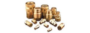 Perfect Finish Brass Hydraulic Connector