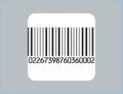 Printed Security Barcode Labels