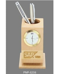 Table Top Clock Frame With Pen Holder